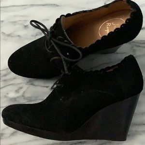 Jack Rogers lace up booties